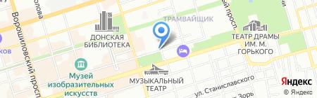 ВЭЛАН на карте Ростова-на-Дону