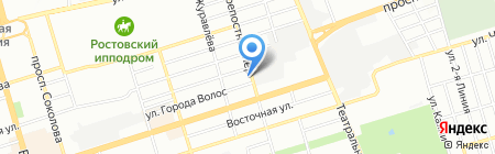 Южные Строительные Технологии на карте Ростова-на-Дону