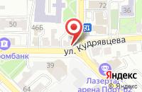 Схема проезда до компании МедSтиль в Рязани