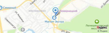 Банкомат ЮниКредит Банк на карте Ростова-на-Дону