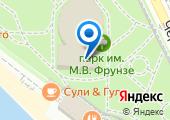 Летний театр им. Фрунзе на карте