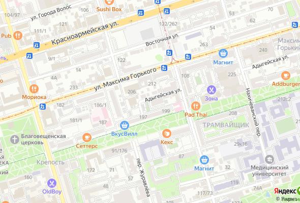 жилой комплекс по ул. Адыгейская