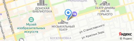 Фармацея на карте Ростова-на-Дону