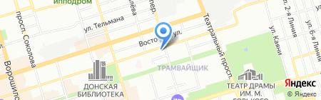 Литера-Принт на карте Ростова-на-Дону