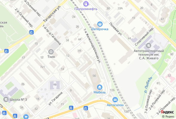 жилой комплекс по ул. 1-я Железнодорожная, 54