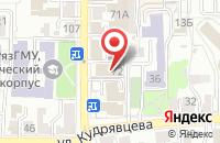 Схема проезда до компании Тести-кафе в Рязани