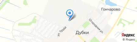 Ярославский на карте Бегоулево