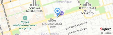 Велес-Тур на карте Ростова-на-Дону