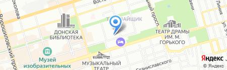 Дон Туризмо на карте Ростова-на-Дону