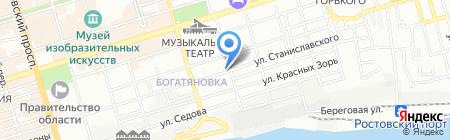 Международная школа Алла Прима на карте Ростова-на-Дону