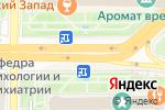Схема проезда до компании Матрас.ру в Рязани