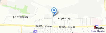 Рыбный двор на карте Ростова-на-Дону