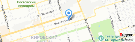 Детский сад №263 Зоренька на карте Ростова-на-Дону