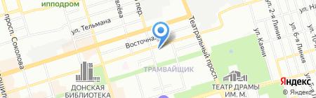 Банкомат БИНБАНК ПАО на карте Ростова-на-Дону