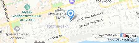 АКВИЛОН на карте Ростова-на-Дону