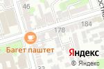 Схема проезда до компании Оп-Арт в Ростове-на-Дону