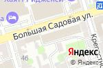 Схема проезда до компании Магнит Косметик в Ростове-на-Дону