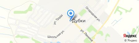 Отделение почтовой связи №545 на карте Бегоулево