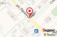 Схема проезда до компании Продуктовый магазин в Дубках