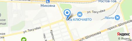 Строй Капитал-Девелопмент на карте Ростова-на-Дону