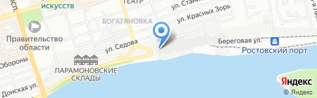 Викинг-Юг на карте Ростова-на-Дону