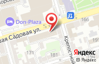 Схема проезда до компании Колумб-3 в Ростове-На-Дону