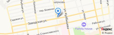 Квартал на карте Батайска