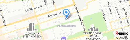 Ростехнологии на карте Ростова-на-Дону