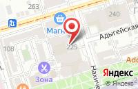Схема проезда до компании Издательский Дом Риа-Центр в Ростове-На-Дону