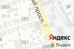Схема проезда до компании Территория дизайна в Ростове-на-Дону