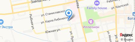 Самарканд на карте Батайска