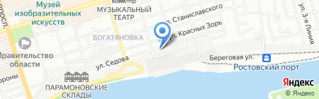 Детский сад №88 на карте Ростова-на-Дону