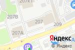 Схема проезда до компании Comepay в Ростове-на-Дону