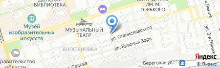 ЛСТК-ЮГ на карте Ростова-на-Дону