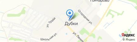 Дубковский культурно-спортивный центр на карте Бегоулево