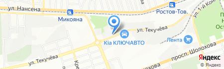 UCS на карте Ростова-на-Дону