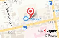 Схема проезда до компании АвтоПрофи в Батайске