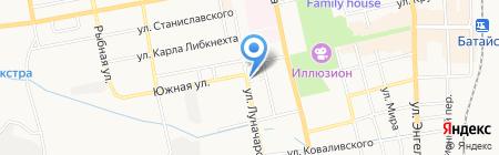С любовью и скорбью на карте Батайска