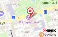 Схема проезда до компании Ростовская областная филармония в Ростове-на-Дону