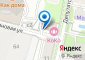 Нотариус Куклиновская-Григорьева Н.И. на карте