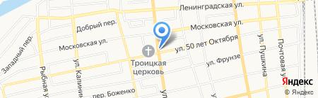 Банкомат Московский Индустриальный банк на карте Батайска