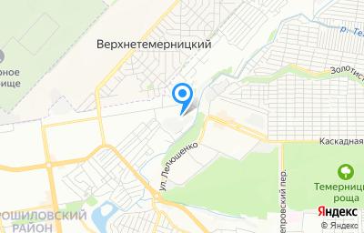 Местоположение на карте пункта техосмотра по адресу г Ростов-на-Дону, ул Атарбекова, д 96Б