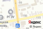 Схема проезда до компании Radial в Батайске