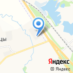Тоннель на карте Ярославля