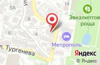 Схема проезда до компании Раевский в Абинске