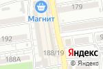 Схема проезда до компании Будуар в Батайске