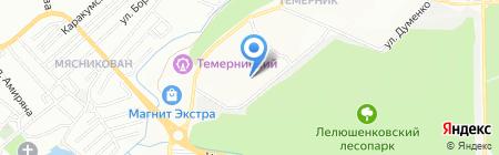 ЮгСтройПодряд на карте Ростова-на-Дону