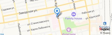 Банкомат ГазПромБанк АО на карте Батайска