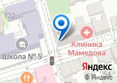 Северо-Кавказская ПЧС Роспотребнадзора на карте
