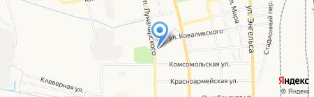 Донская Аптека+ на карте Батайска